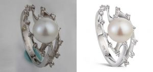 jewellery retouching in photoshop