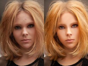 glamour retouching photoshop sample portfolio