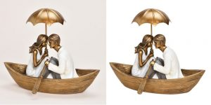 love couple show pice clipping path image